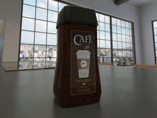 Nescafe Coffee Container