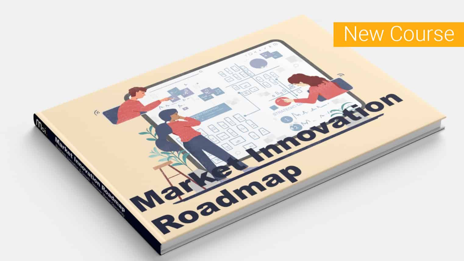 Innovation education platform, focused industry innovation training, online course   Moi Studio